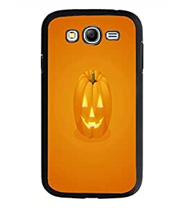PrintDhaba Pumpkin Face D-2352 Back Case Cover for SAMSUNG GALAXY GRAND I9082 (Multi-Coloured)