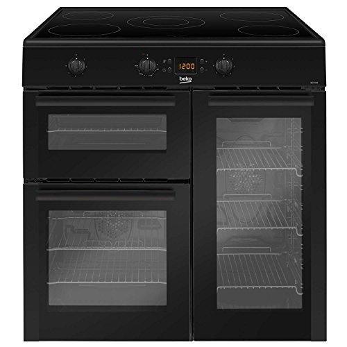 Beko BDVI90K 90cm Black Electric Induction Range Cooker