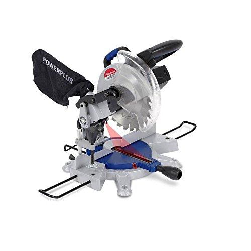 Powerplus POW8130 miter saw 1500 W 5000 RPM - Ingletadora (113 dB, Corriente alterna)
