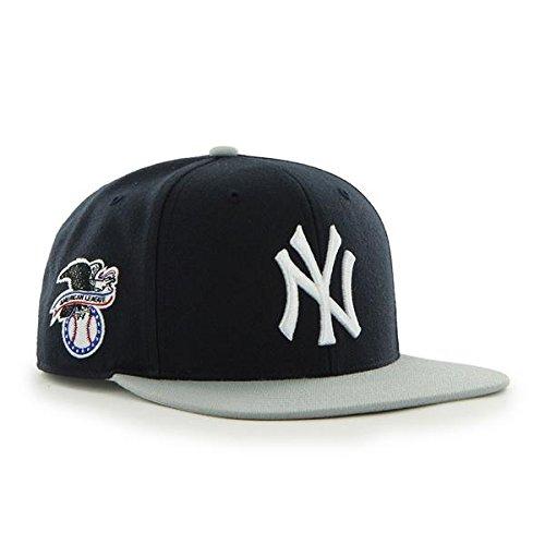 47 Erwachsene Kappe MLB New York Yankees Sure Shot 2 Tone Captain Navy/Grey  ...