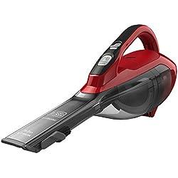 Black & Decker DVA315J Sans sac Cerise, Rouge aspirateur de table - Aspirateurs de table (Sec, Cyclonique, Sans sac, 0,5 L, Cerise, Rouge, Batterie/Pile)