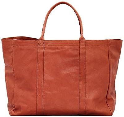 Paul Marius MON PARTENAIRE L cuir naturel sac à main grand cabas style vintage