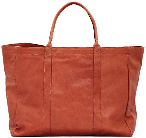 MON PARTENAIRE L cuir naturel sac à main grand cabas style vintage PAUL MARIUS