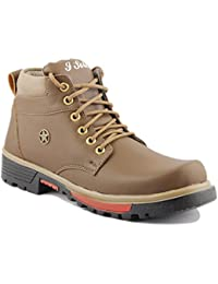 I Sole Comfortable Dark Brown Colored Boots IS6008BT-AZ1