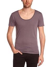 Eleven Paris L2 Basic Large Neck Ss - Camiseta Hombre
