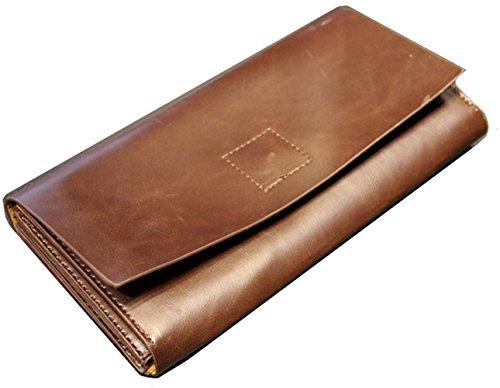 Elegante Herren Business Clutch Unterarmtasche hervorragende Qualität Geldbörse Geldbeutel Geldtasche Handgelenktasche Portemonnaie braun