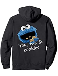 US Sesame Street Cookie Monster You Me 01 Sudadera con Capucha