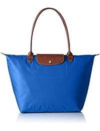 Longchamp - Bolso al hombro para mujer azul azul cobalto