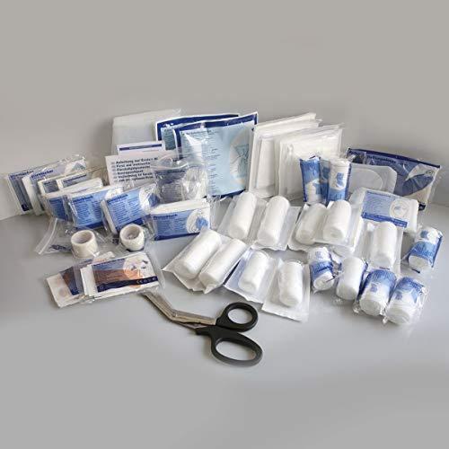 Rot-Kreuz-Kasten-Nachfüllpack-Maxi, Premium-Nachfüllset- DIN 13169 - Typ E, Nachfüllung für Erste-Hilfe-Kasten, Verbandskasten-Nachfüllset 13157 - Typ C (klein), Größe:MAXI