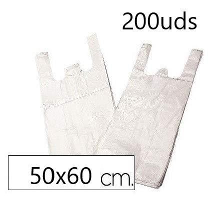EUROXANTY® Bolsas Plástico Tipo Camiseta   Alta