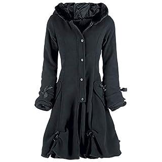 Poizen Industries Alice Coat Girl-Mantel schwarz S