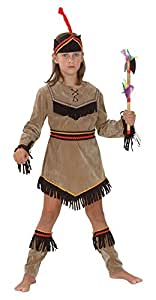 Indian Girl - Childrens Fancy Dress Costume - Small - 110 to 122cm