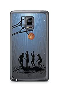 YuBingo Let's Play Basketball Mobile Case Back Cover for Samsung Galaxy Note 4 Edge