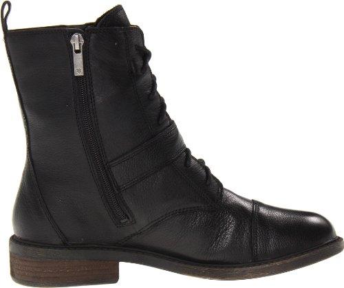 Lucky Brand Nolan Damen Rund Leder Stiefel Black