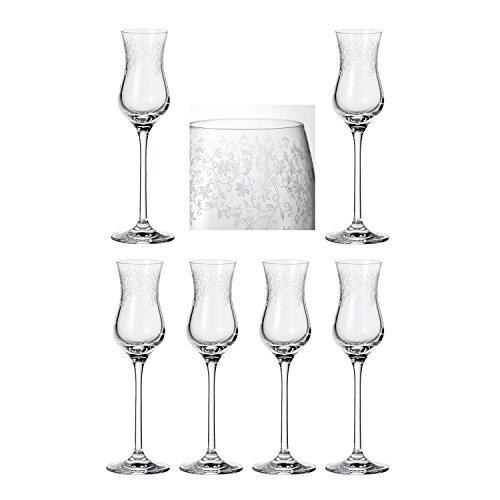 Leonardo Grappa Glas, 6er-Set Chateau