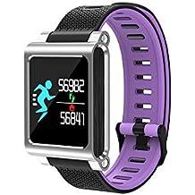 Smartwatches K8 Smart Watch Podómetro Monitor de presión Arterial de frecuencia cardíaca Impermeable Modo multideportivo Hombres