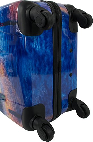 REISEKOFFER REISEKOFFERSET TROLLEY KOFFER 2er oder 3er SET von normani®, 4 kugelgelagerte Leichtlauf-Rollen, 360-Grad-Rollen-System Seatown