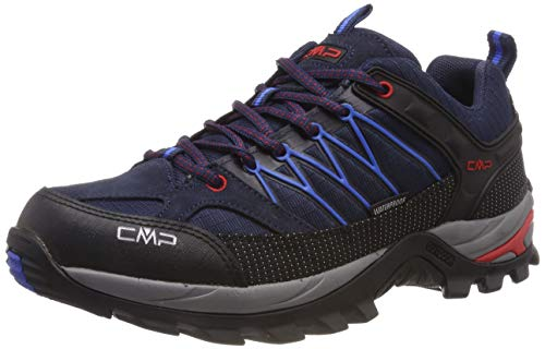 CMP - F.lli Campagnolo Herren Rigel Low Trekking- & Wanderhalbschuhe, Blau (B.Blue-Royal 10nc), 45 EU