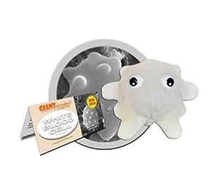 GIANTMICROBES Peluche Globule blanc Giant Microbes + Peluche Syphilis (Gadgets jeu et jouet pack bundle)
