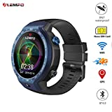 Smartwatch Orologio LEMFO LEM9 Doppio 4G Androide 7.1 1.39 inch 454X454 Display Touch OLED 5MP 600mAh (Blue)