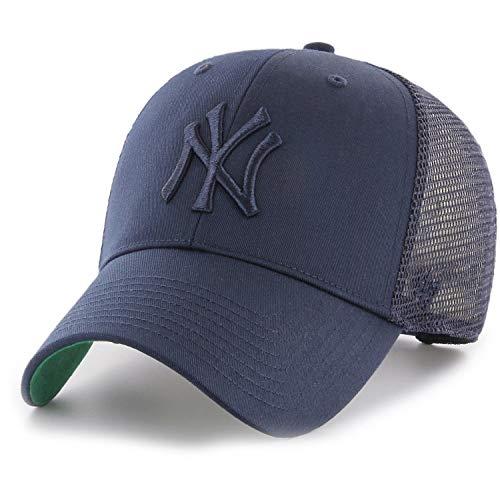 47Brand Branson Trucker MVP Snapback NY Yankees BRANS17CTP-NYA Dunkelblau, Size:ONE Size (Snapback 47brand)