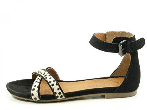 SPM 40496982 Nantes Schuhe Damen Sandalen Schwarz
