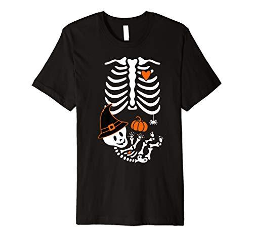 Während Schwangerschaft Baby Halloween-T Shirt
