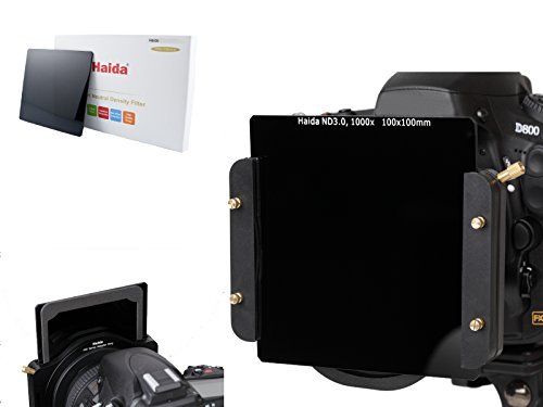 Haida Optical Neutral Graufilter 100 mm x 100 mm (ND 3.0) 1000x - Kompatibel mit Cokin Z-Pro System