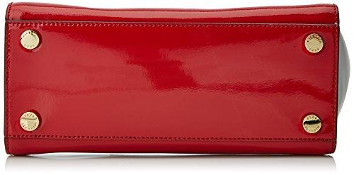 Michael Kors - Selma, Borse a secchiello Donna Rosso (Bright Red)