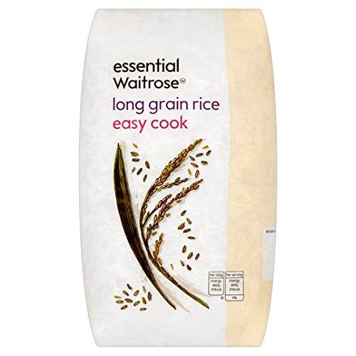 Long Grain Facile cuire le riz essentielle 1 kg de Waitrose