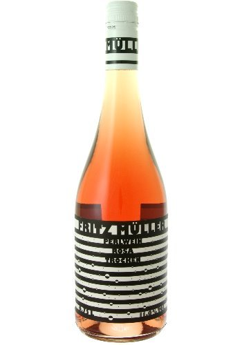 Fritz Müller Perlwein Rosa trocken Qualitätsperlwein b.A. - 0,75 Liter