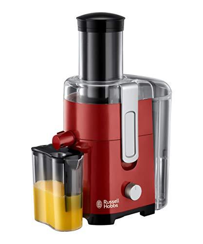 Russell Hobbs Desire - Licuadora y Exprimidor Eléctrico 550 W, Plástico, Libre de BPA, Rojo - ref...