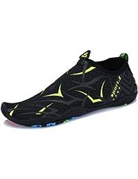 23e47c7a22104 UMmaid Zapatos de Agua Hombre para Buceo Snorkel Piscina Playa Vela  Zapatillas de Surf Playa Natación Yoga…