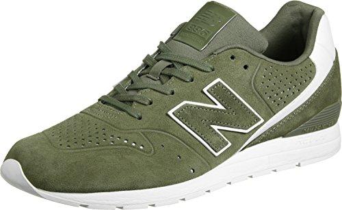New Balance Herren 996 Leather Sneaker Mehrfarbig (Khaki)