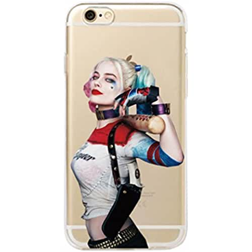 Phone Kandy® Harley Quinn DC Comics Super Villian Carcasa / Carcasa / Estuche con Protector de Pantalla - Prime (iPhone 7 or iPhone 8, E)