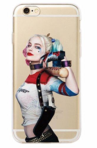 Phone Kandy Harley Quinn DC Comics Super Schurke Harte Handytasche & Schirm-Schutz Hülle Abdeckung Haut tascen - Prime (iPhone 6 PLUS, Typ #5)