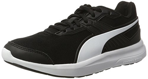 Puma Unisex-Erwachsene Escaper Mesh Cross-Trainer, Schwarz Black-White, 43 EU