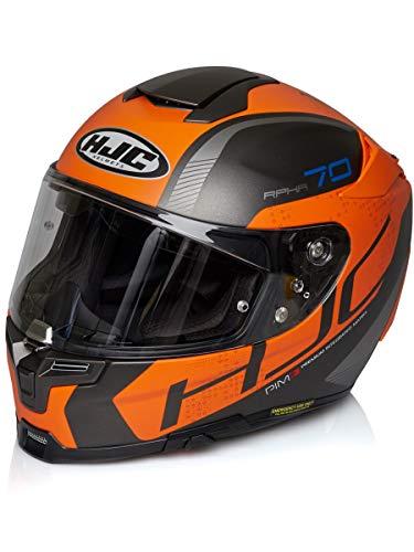Hjc Motorradhelm Rpha 70 Vias Orange (Large , Orange)