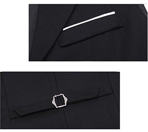 Maglietta Maschile Di Autunno E Inverno Degli Uomini 2017 Maglia Sottile A Un Solo Petto Di Colore Solido Sottile Da Uomo Grey