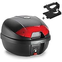 Givi Topcase Tr/äger Monolock Piaggio MP3 400// LT 06-11 schwarz mit spezifischer Adapterplatte