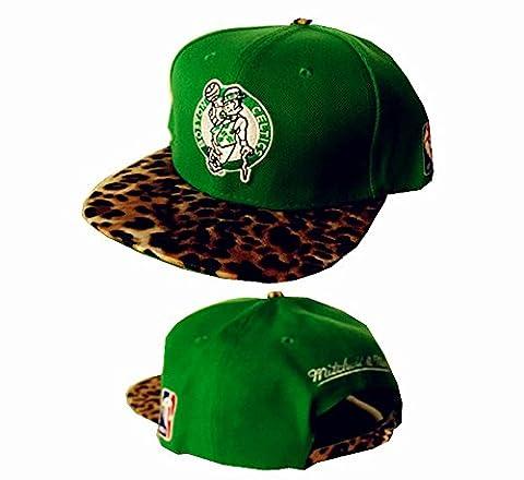 Authentics Boston Celtics NBA Chapeau réglable Vert