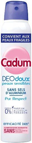 Cadum - DéodorantFemme Doux Atomiseur Pur Respect 0% - 200 ml