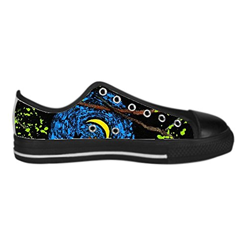 Dalliy s¨¹?e katze Men's Canvas shoes Schuhe Lace-up High-top Sneakers Segeltuchschuhe Leinwand-Schuh-Turnschuhe D