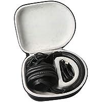 Khanka Duro Viaje Estuche Bolso Funda para oneodio adapter free Closed Back Auriculares de DJ Auriculares