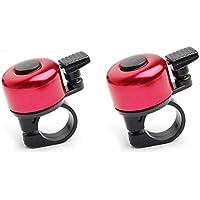 Aofocy Anillo de campaña de Aluminio de 35 mm para Bicicleta de Moda, Anillo de campaña, Rojo