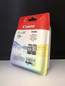 2 Original Druckerpatronen für Canon Pixma MP495 (Black/Color)
