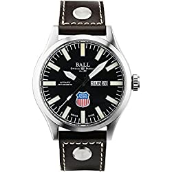 Reloj Ball Engineer Master II Union Pacific Big Boy, Correa de piel, Ed.Limitada
