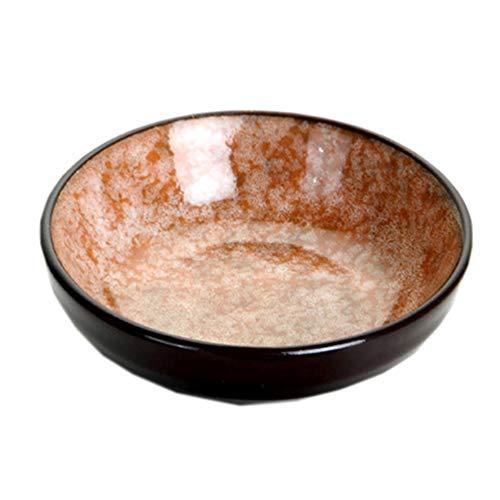 Unbekannt Ceramic Gravy Bowl Sauces Dish Sushi Plate Dip Dipping Side Appetizer Dish 1PC (E) Sauce Dish Bowl