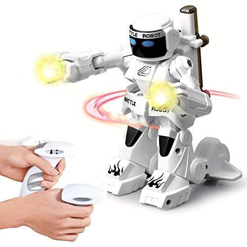 PER 2.4G Somatosensoric Fernbedienung Roboter Boxen Kampf Spielzeug Roboter für Kinder Kleinkinder USB wiederaufladbare (Roboter Box)