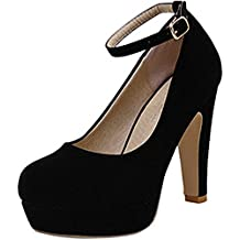 Zapatos De Tacon Alto Plataforma